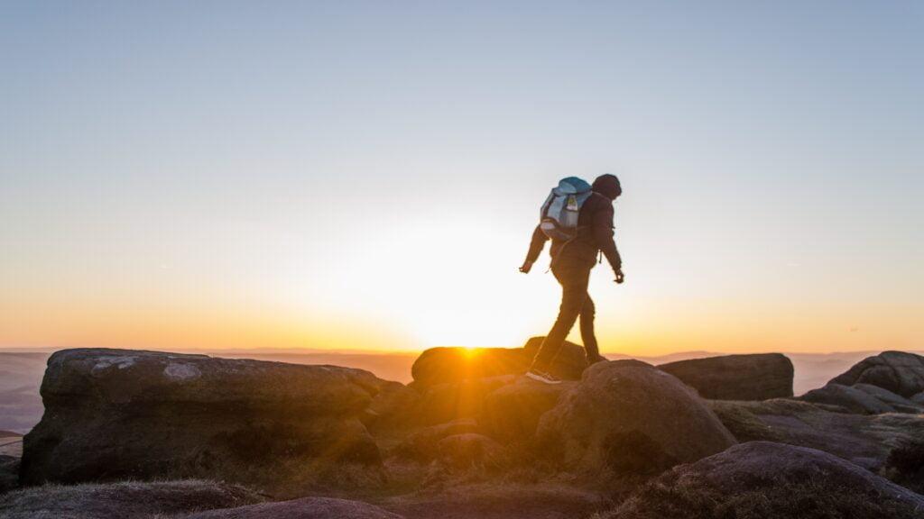 bruciare calorie facendo trekking