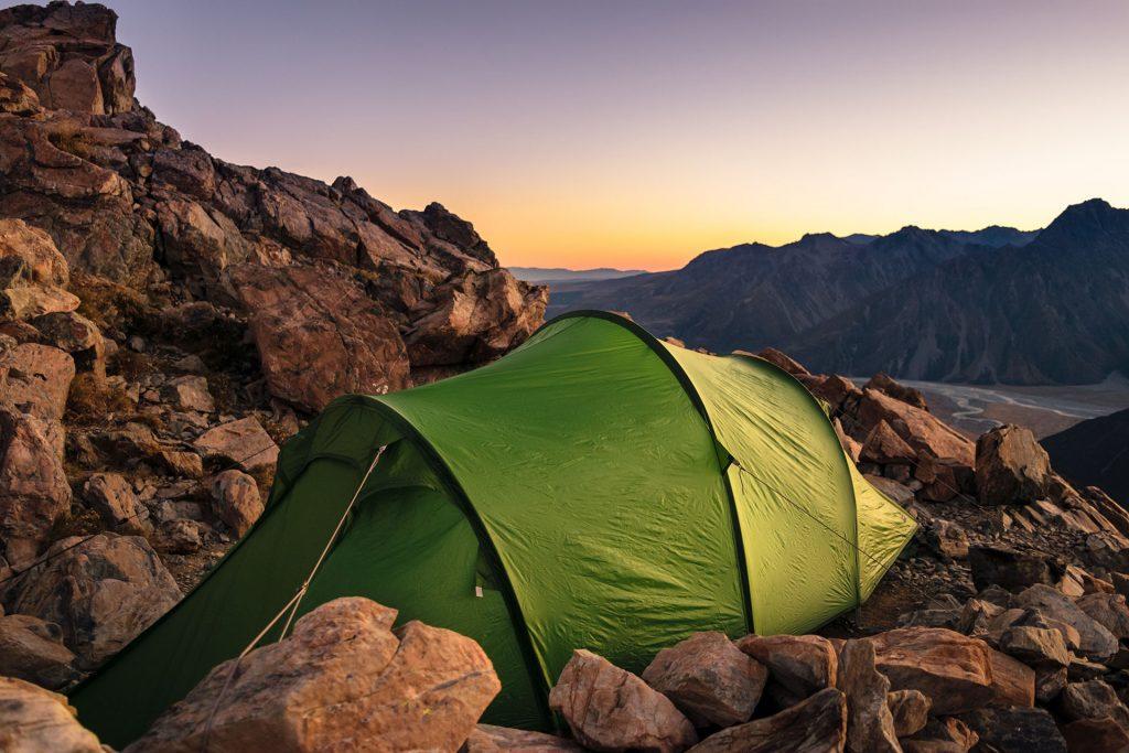 La tenda da alpinismo