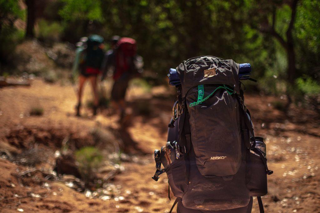Zaino da trekking per più giorni