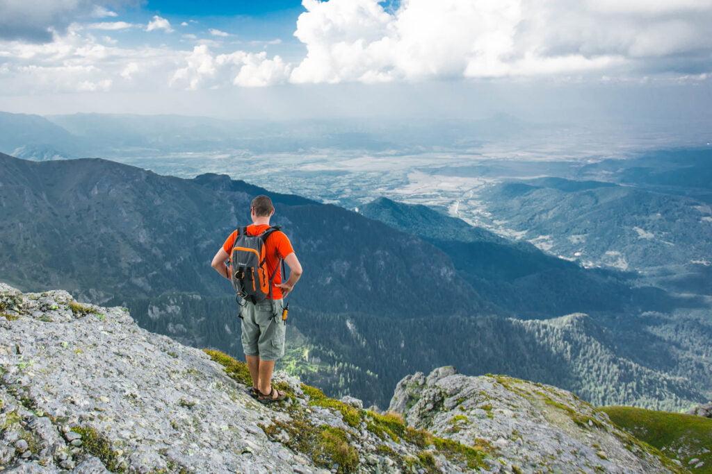 Zaini 30 e 35 litri escursioni trekking