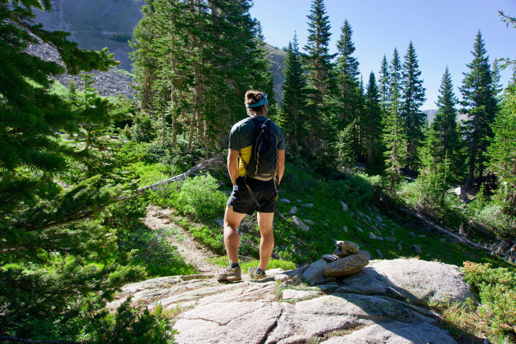 zaino idrico da trekking