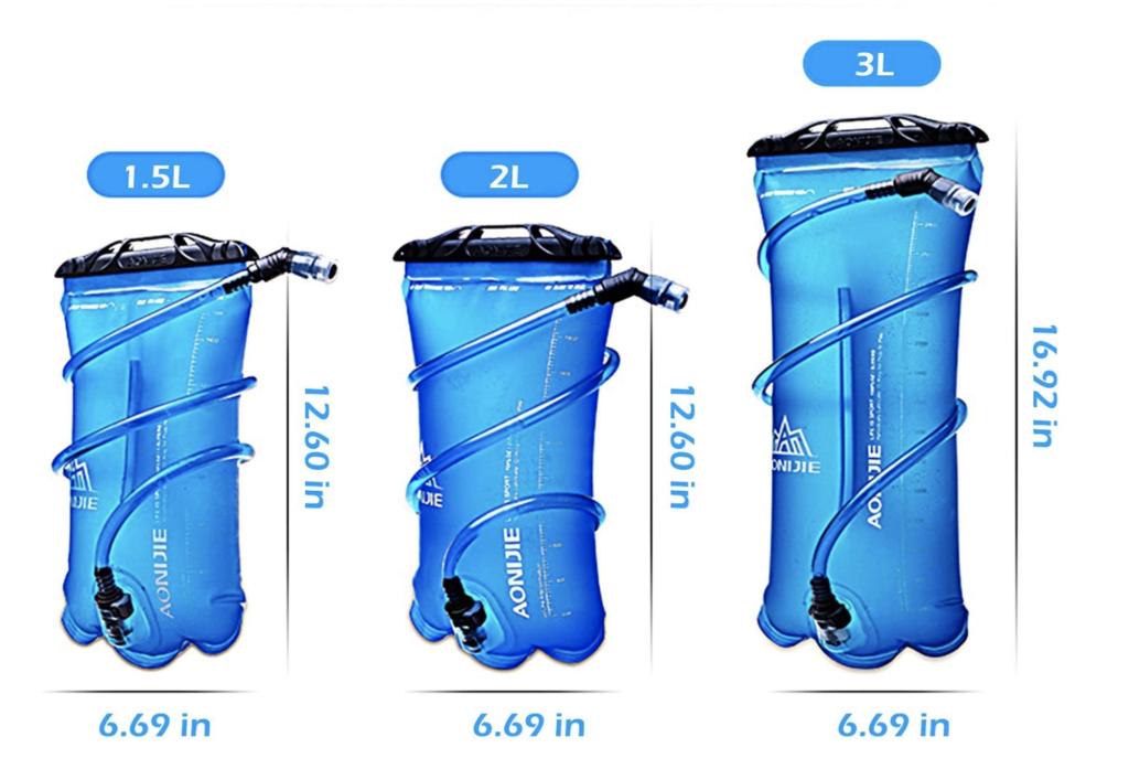litri sacche idriche