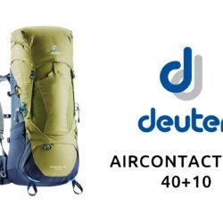 Deuter Aircontact Lite 40+10Attrezzatura Trekking