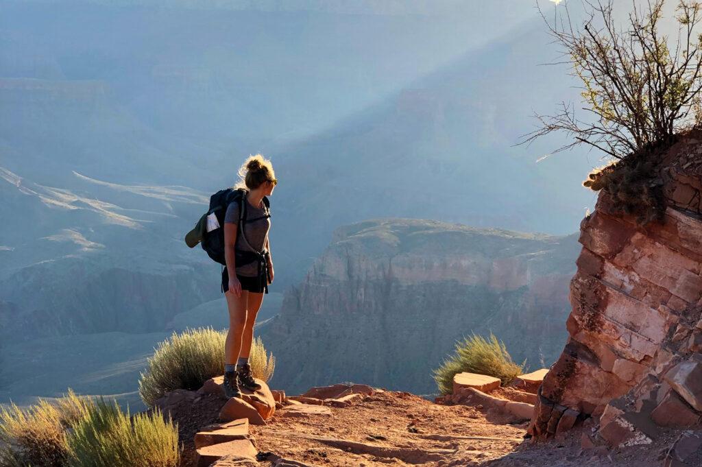 alleggerire lo zaino da trekking