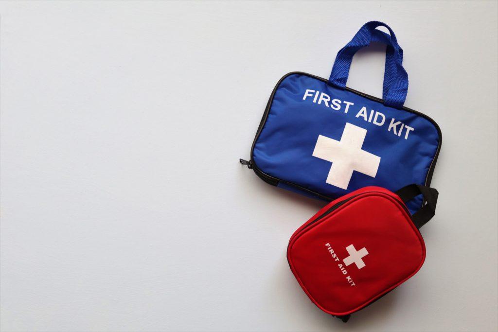 Kit primo soccorso fai da te