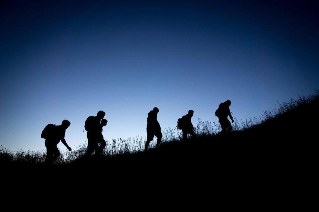 scegliere un'escursione notturna