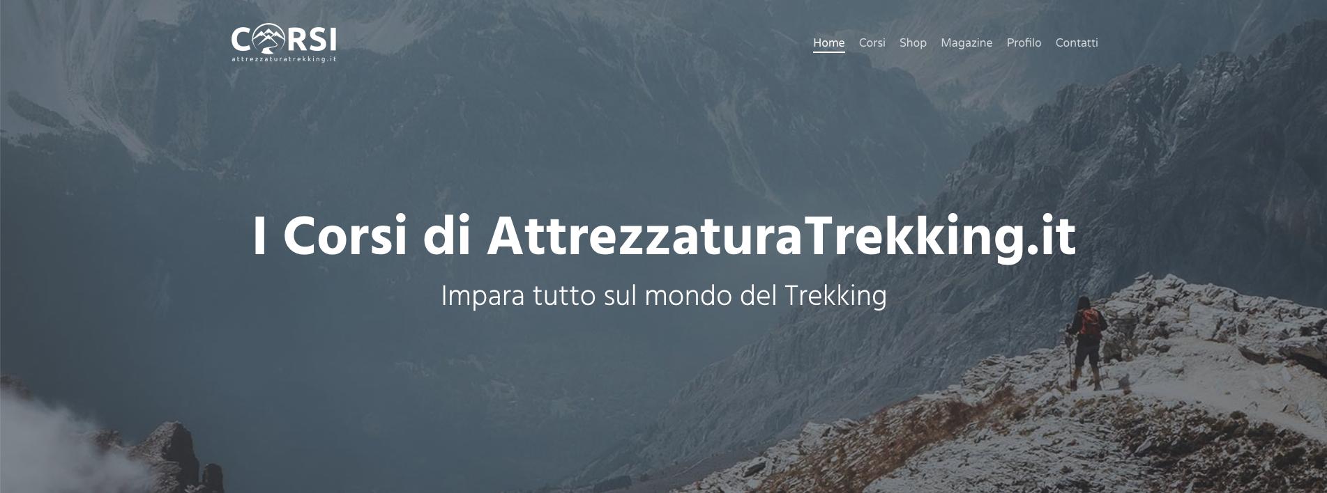 AttrezzaturaTrekking.it - Corsi
