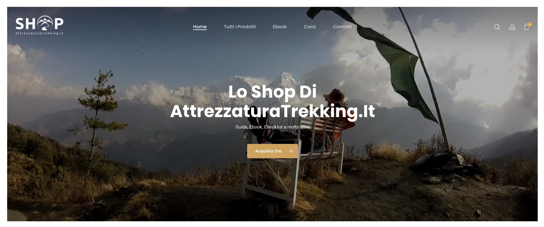 AttrezzaturaTrekking.it - Shop