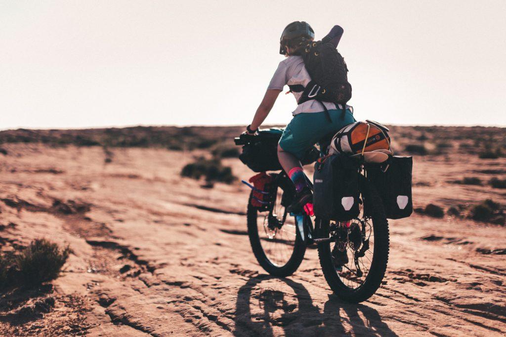trekking con bici
