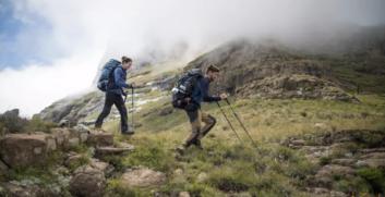 Come utilizzare i bastoncini da trekking  per migliorare la stabilità - AttrezzaturaTrekking.it